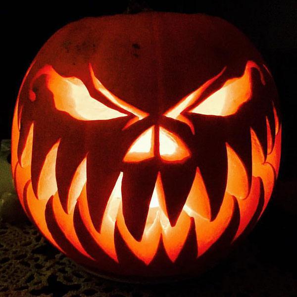 Halloween tök ijesztő