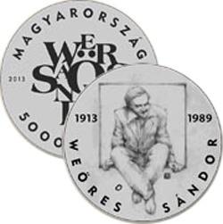 b73044f6f Weöres Sándor-emlékérmet bocsát ki a Nemzeti Bank | Kölöknet